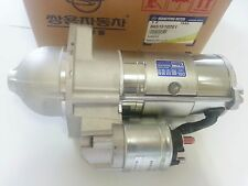 OEM Stater Motor Ssanyong Rexton Istana Kyron #6651510201 = 6651510101