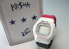 "RARE NEW CASIO BABY-G LIMITED EDITION ""KESHA"" BG-5600KS-7DR WOMEN'S WATCH"