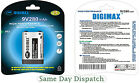 2X DIGIMAX 9V 280mAh Ni-MH Rechargeable Battery PP3 - Free P&P High Quality New