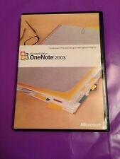 Microsoft Office una nota 2003 Windows Genuine RETAIL VERSIONE CON PRODUCT KEY