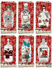 VALENTINE'S DAY/LOVE (05-V) SCRAPBOOK CARD EMBELLISHMENTS HANG/GIFT TAGS