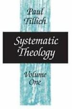 Systematic Theology, vol. 1, Tillich, Paul, Good Book