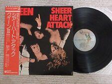 Queen Sheer Heart Attack P-10137E Japan LP Insert OBI Near Mint