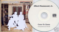 ALBERT HAMMOND JR Como Te Llama UK 13-trk promo test CD Strokes