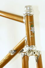 Columbine 52 cc 53 tt Stainless Steel Lugs frameset Chestnut Chris King headset