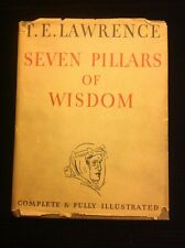 Seven Pillars Of Wisdom.1St American Edition. T.E. Lawrence , 1935. DJ.VG.