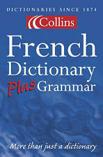 Collins French Dictionary Plus Grammar,ACCEPTABLE Book