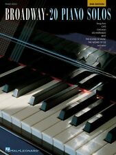 Broadway: 20 Piano Solos 2nd Edition Sheet Music Piano Solo SongBook N 000311028