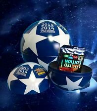 Tin Ball Booster + Limited edition card Adrenalyn XL Champions league 13 / 2014