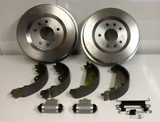 LAND ROVER FREELANDER REAR BRAKE DRUM OVERHAUL KIT 2001 TO 2006 TD4 DIESEL