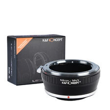 K&F Concept adapter for Nikon F mount lens to Micro 4/3 M4/3 Mount Adapter  G3
