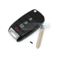 OEM Keyless Entry Fob Folding Key Remote Control Blank For KIA 2013-16 Cerato K3