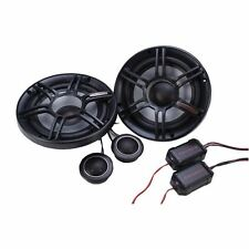"NEW! Crunch CS65C 6.5"" V-Drive Series Component Car Speaker System 300W PEAK PWR"
