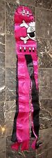 "60"" Pirate Princess Pink JR Shiny Solarmax Printed Nylon Wind Sock Windsock"