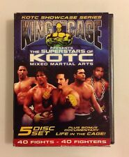 King of the Cage The Superstars of KOTC Mixed Martial Arts DVD, 2006 5 Disc Set