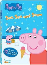 Peppa Pig: Sun Sea & Snow (2016, REGION 1 DVD New)