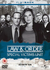 Law & Order . Special Victims Unit . Complete Season 10 . New York . 5 DVD . NEU