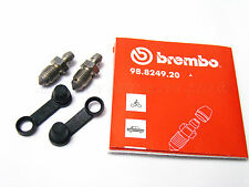 Set of Genuine Bleed Nipple Screws and Dust Caps for Brembo Calipers Porsche