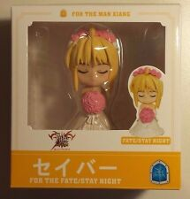 "FATE/STAY NIGHT ""SABER - BRIDE A"" 3"" PVC FIGURE #157"
