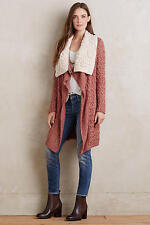 NWT Anthropologie Lilitz Cardigan, by Knitted & Knotted - Dark Orange size S
