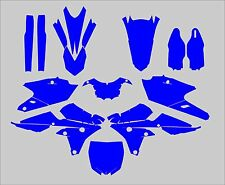 Yamaha YZF 250 450 2014-2017 Template vector EPS