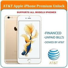 FULL PREMIUM AT&T Factory Unlock Code Service iPhone 4 4S 5 5C 5S 6 6+ 6s 6s+7+7
