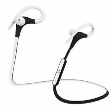 Sport Bluetooth Headset Clear Stereo Earbuds W MIC For Samsung Galaxy S7 S6 S3