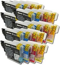 24 Compatible LC985 (LC39) Ink Cartridges for Brother DCP-J315W Printer