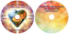 GUIDED MEDITATION X 2 CD's:FOR SELF HEALING, LOVE, GRATITUDE + RELAXATION MUSIC