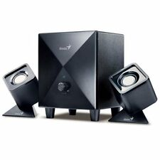 GENIUS 2.1 sw-d2.1 200 USB POWERED SUBWOOFER SPEAKER SYSTEM