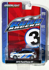 GREENLIGHT ROAD RACERS SERIES 3 2012 FORD FOCUS ST - FORD RACING CAR