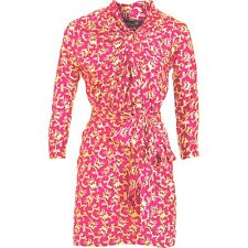 Isabel Marant Coral Reef Print Dress with Belt Size 3 US 8 $730