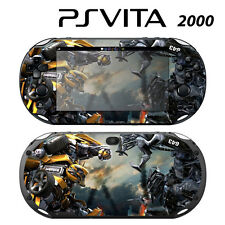 Vinyl Decal Skin Sticker for Sony PS Vita Slim 2000 Transformers Bumblebee 2