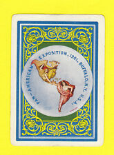 PAN - AMERICAN EXPOSITION  -  VERY  RARE  SET  OF  53  PLAYING  CARDS  -  1901