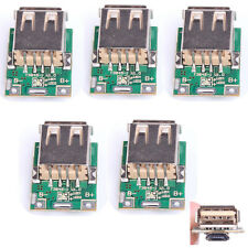 5pcs 5V Step-Up Module Boost Converter Li Battery Charging Protection DIY Charge