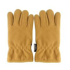 Men's Winter Thick Polar Fleece Thinsulate 3M Warm Snow Ski Hike Gloves Khaki XL