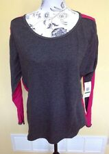 Calvin Klein Performance Gray/Bright Pink Size Large