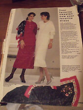 Vintage JCPenney Penneys Fall Winter 1986 Department Store Catalog Book