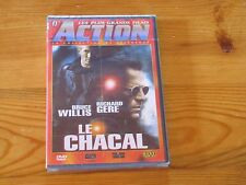 LE CHACAL DVD (Bruce Willis, Richard Gere)