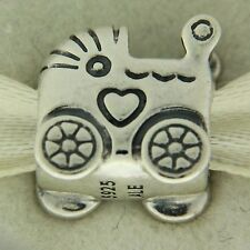 Authentic Pandora 790346 Baby Carriage Sterling Silver Bead Charm