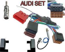 Radio Blende für AUDI A4 B5 Aktivsystem Auto Radio Adapter Kabel 100Watt Aktiv