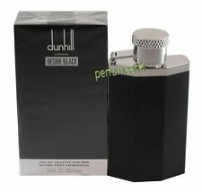 Desire Black London by Alfred Dunhill for Men 3.4/3.3 oz EDT Spray New In Box