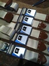 FORD FALCON XR XT XW XY GT GS HK HQ HZ HOLDEN  MONARO RESTORED SEATBELTS BLACK