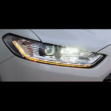 LED Projector DRL Xenon HID Head lights lamp For Ford Fusion / Mondeo 2014~2015
