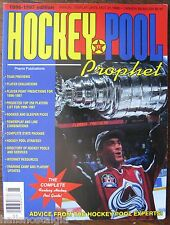 "1996-1997 ""Hockey Pool Prophet"" The Complete Fantasy Hockey Pool Guide, 176 pg"