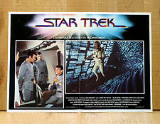STAR TREK fotobusta poster affiche Kirk Spock Sci Fi The Motion Picture