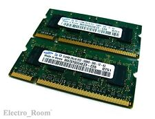 1GB 2x512MB PC2-5300 5300S DDR2 Laptop Memory RAM 200-Pin SO-DIMM *SAMSUNG*