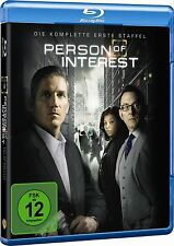 PERSON OF INTEREST, Staffel 1 (4 Blu-ray Discs) NEU+OVP