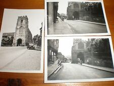 3 Old photographs of Warwick 1936