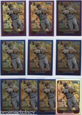 Lot of (140) David Freese 2012 Bowman Chrome COLOR Cards - Los Angeles Angels 3B